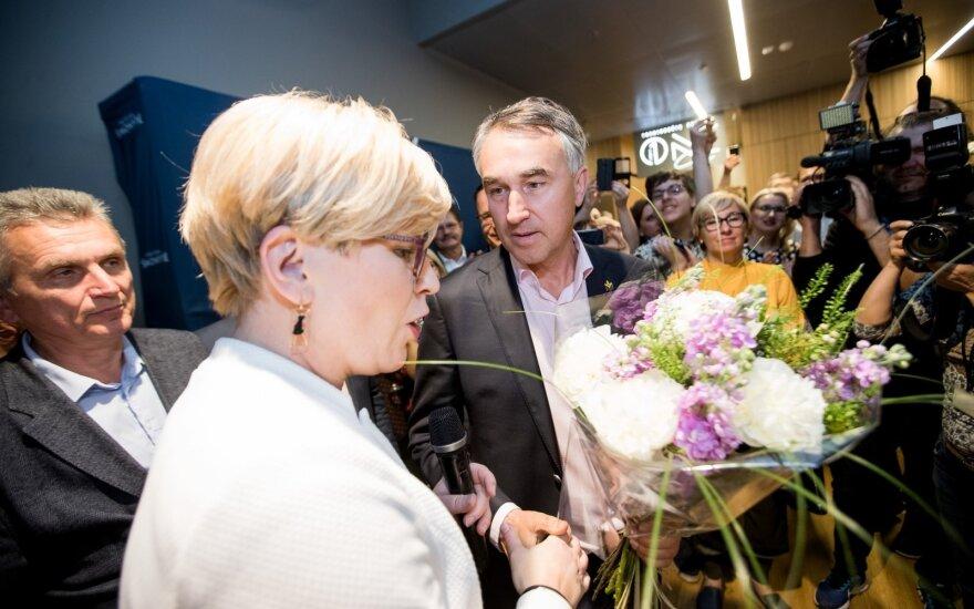 Ingrida Šimonytė, Petras Auštrevičius