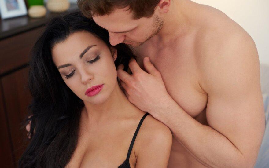Seksualinės patirtys geriausios su patikimu žmogumi.
