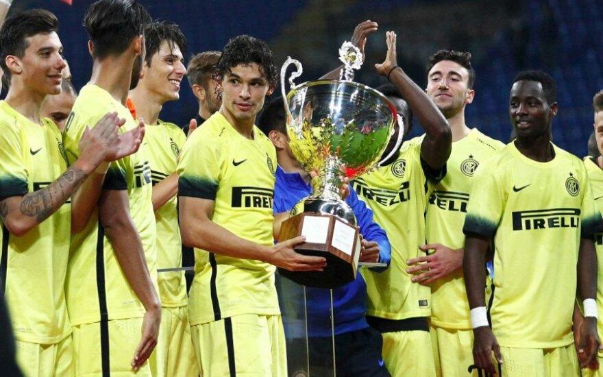 """Milano """"Inter"""" klubo futbolininkai"""