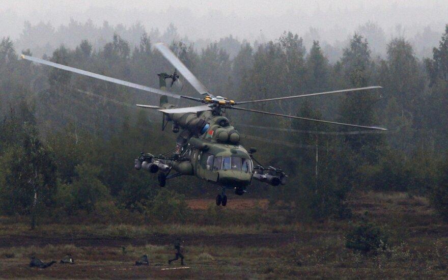 Sibire dingęs sraigtasparnis rastas sudužęs, įgulos narių likimas nežinomas
