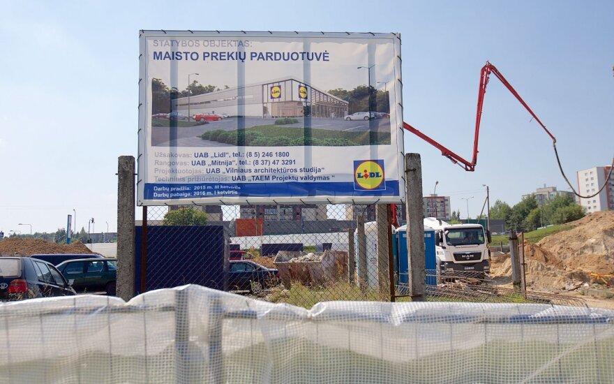 """""""Lidl"""" plėtra tęsiasi: šalia judrios gatvės – nauja parduotuvė"""