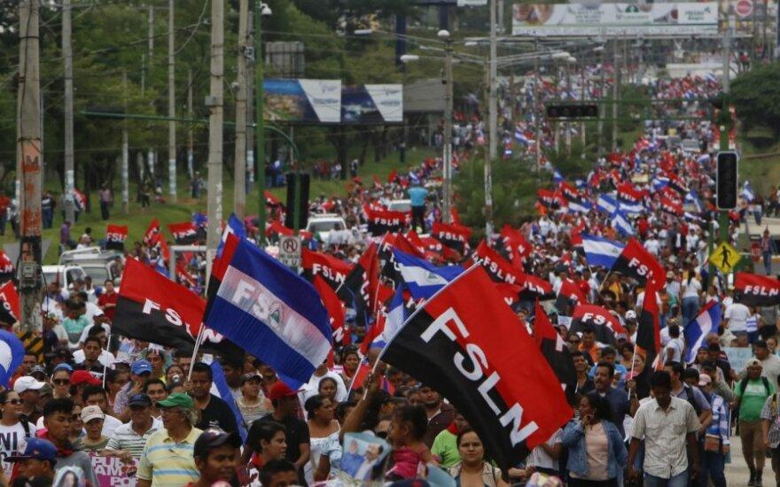 Neramumai Nikaragvoje pareikalavo 14 aukų