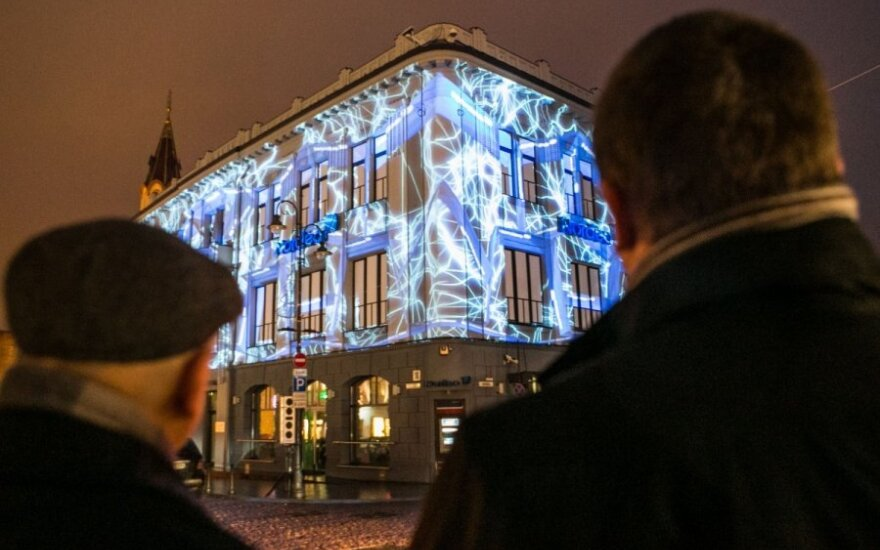 Vilniaus širdyje rodoma 3D pasaka apie litą