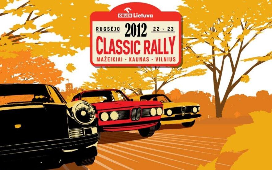 Classic Rally plakatas