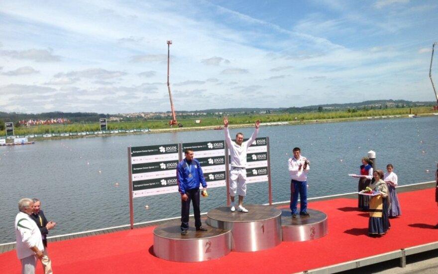 Jevgenijus Šuklinas - Europos čempionas (Sauliaus Svaldenio nuotr.)