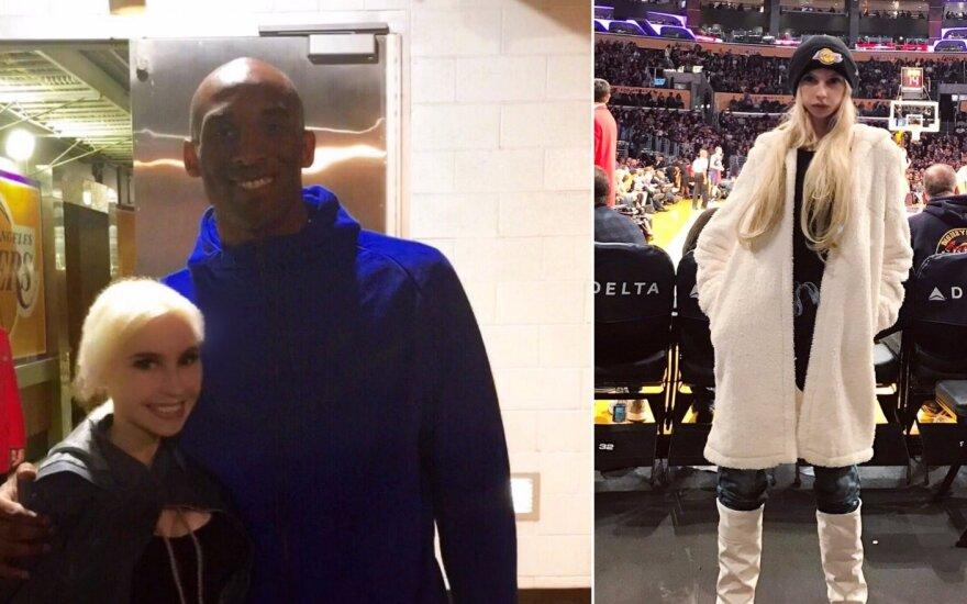 Simona Milinytė ir Kobe Bryantas