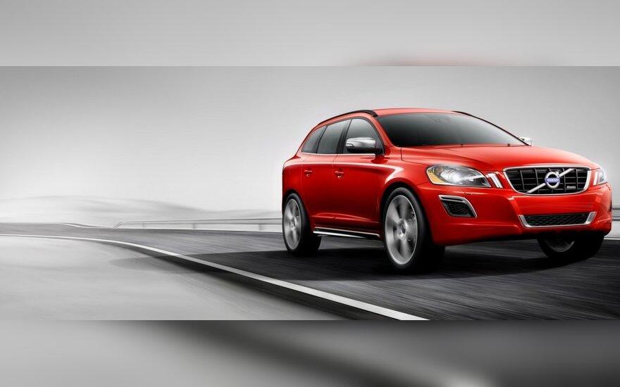 montavus Polestar Performance programinę įrangą Volvo XC60 su D3 varikliu galia padidėja 52 AG