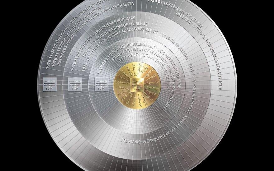 Šimtmečio proga – kolekcinių monetų serija