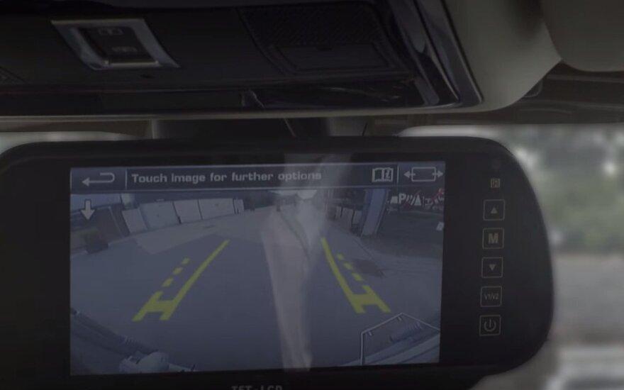 """Naujoji """"Land Rover"""" saugumo sistema"""