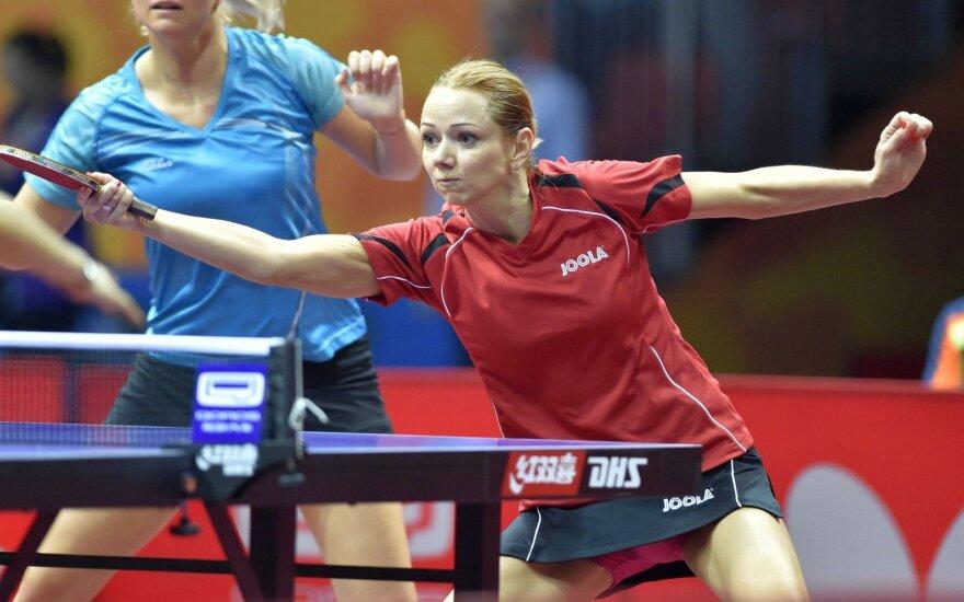 Lietuviai anksti pasitraukė iš pasaulio stalo teniso čempionato
