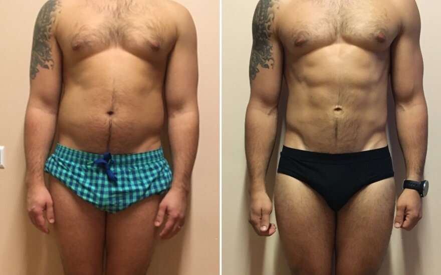 15 kg atsikratęs Marius: kartais tenka save pristabdyti