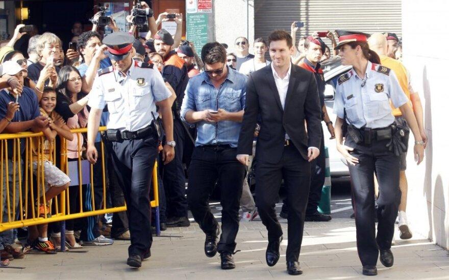 Lionelis Messi keliauja į teismą
