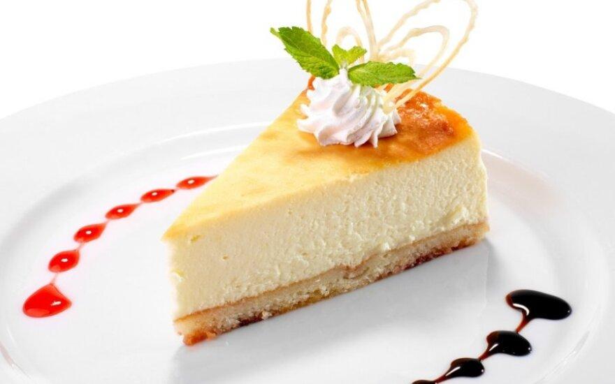 Amerikietiškas sūrio pyragas