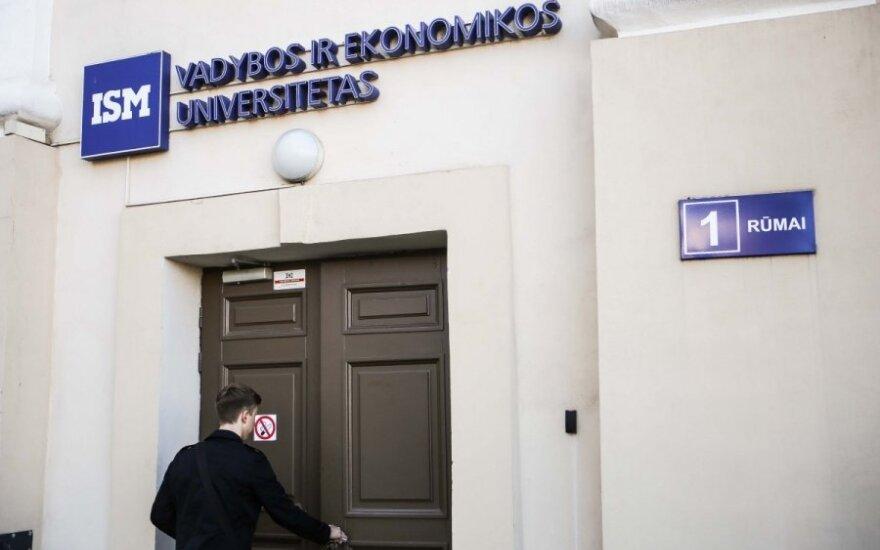 KTU perima ISM Vadybos ir ekonomikos universiteto kontrolę
