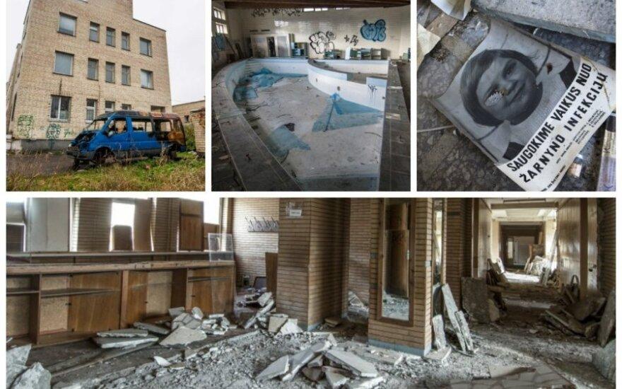 """Vaikų poliklinikos pastatas per metus tapo siaubingu """"vaiduokliu"""""""