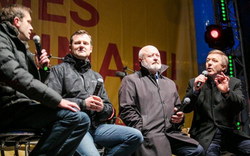 Andrius Tapinas, Gintautas Paluckas, Eugenijus Gentvilas, Ramūnas Karbauskis