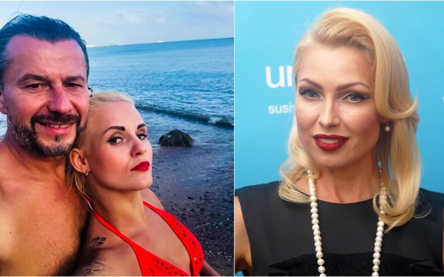 Sigitas Martinavičius su žmona Edita ir Natalija Martinavičienė / Foto: asm. archyvo, DELFI