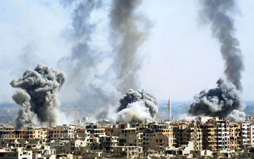 JT: karas Sirijoje pirmą šių metų pusmetį privertė išsikelti milijoną žmonių
