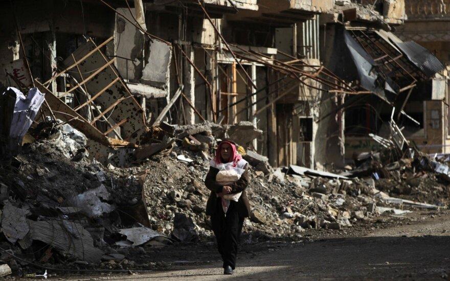 Svarbi pergalė: Sirijos armija pralaužė Deir az Zoro apsiaustį