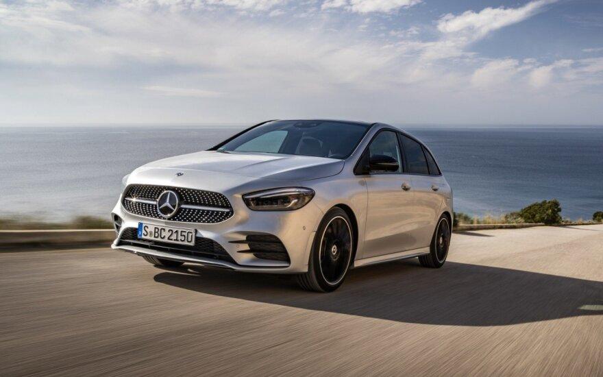 """Mercedes-Benz"" į Lietuvą atvežė naują B klasės modelį"