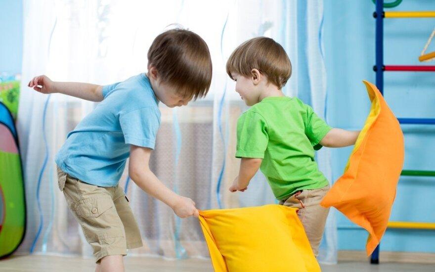 Trenerės patarimai, kaip įrengti vaikų kambarį, kad jie augtų sportiški