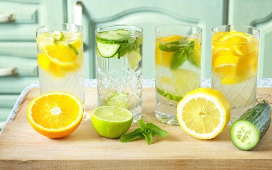 Svorio metimo gėrimai, Žyma: liekninantys gerimai