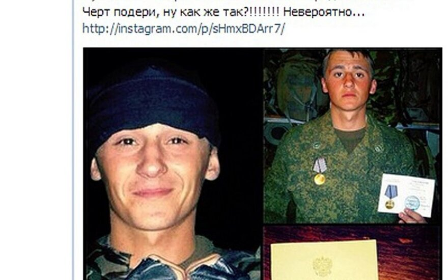 Ukraina: pranešama apie sunkvežimiais išvežamus Rusijos karių lavonus