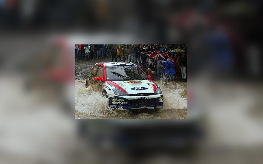 "Colin McRae, ""Ford Focus RS 02"""
