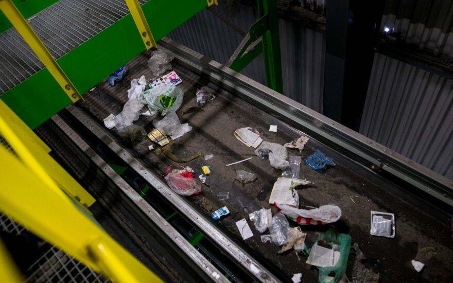 Atliekų rūšiavimo linijos atidarymas