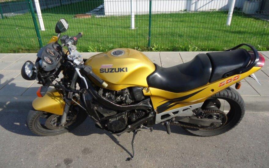 Motociklas Suzuki GSX-600