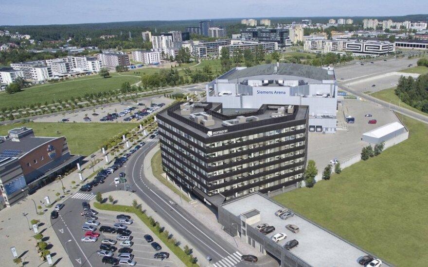 "Vilniuje stato verslo centrą ""Pentagon"""