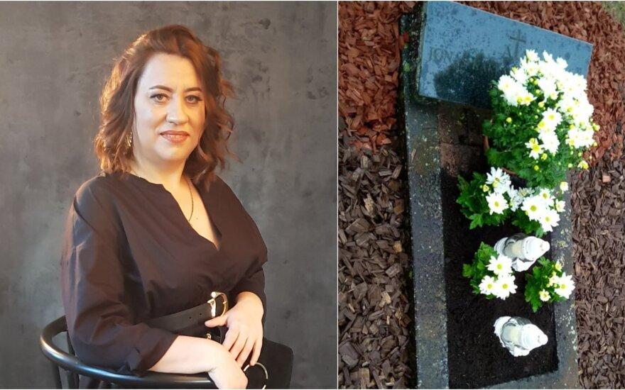 Rimos Antonovienės sūnaus kapas
