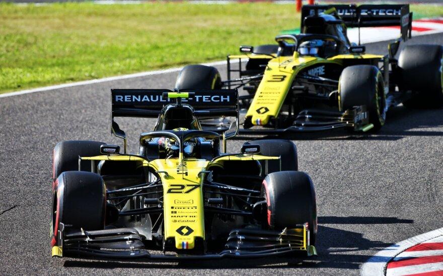 """""""Renault"""" prarado iškovotus taškus Japonijoje"""