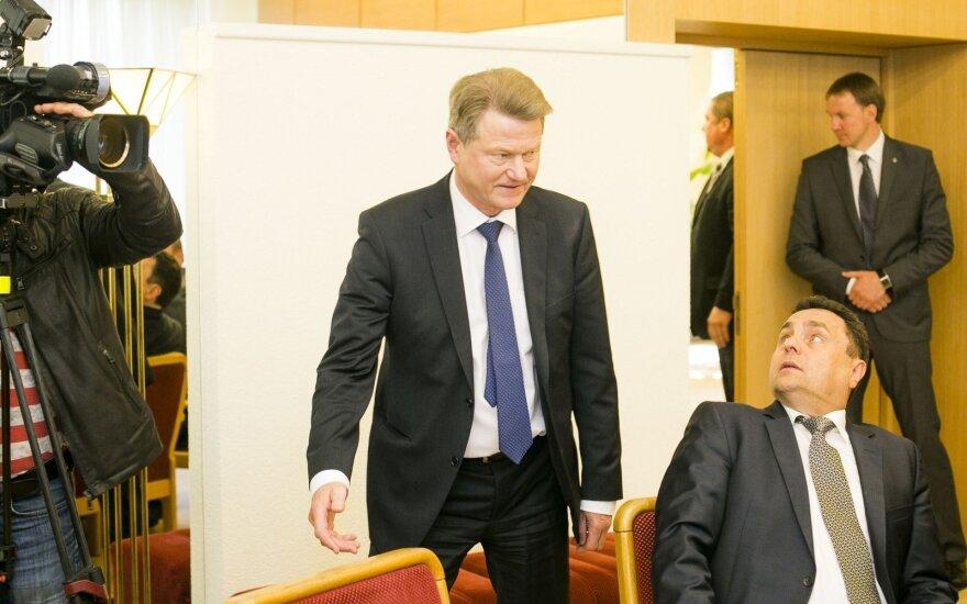 Rolandas Paksas and Petras Gražulis