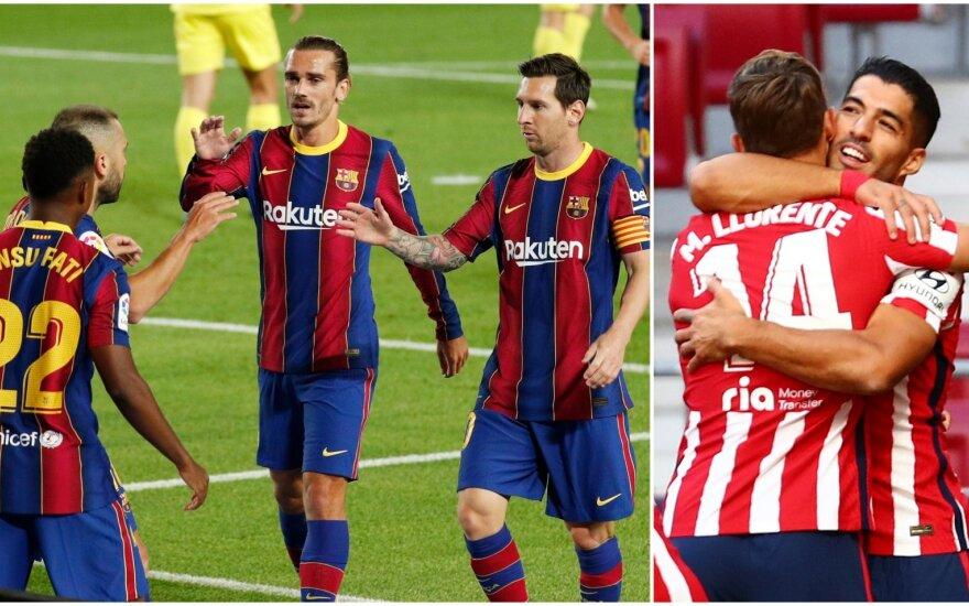 Barcelona ir Luisas Suarezas