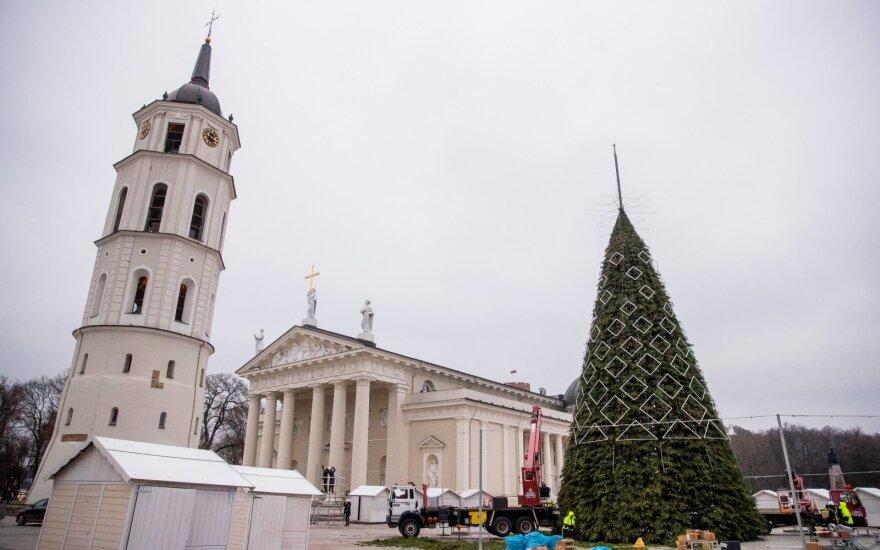 Vilnius prakalbo apie laukiamiausią kalėdinę paslaptį: ar pernykštė eglė skirsis nuo šiųmetės?