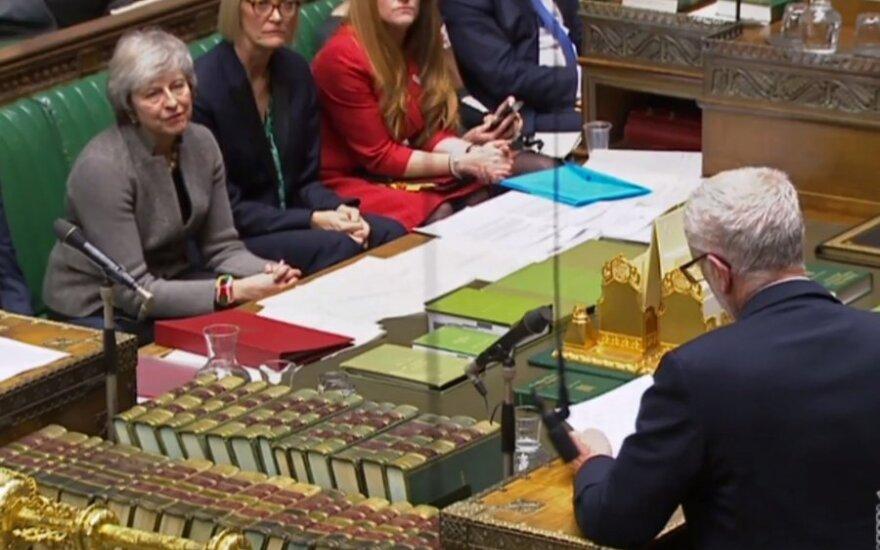Theresa May, Jeremy Corbynas
