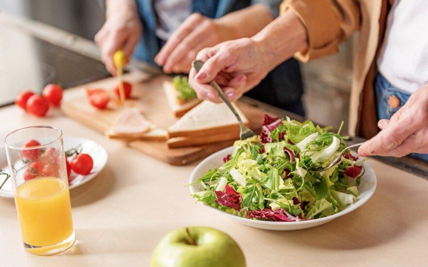 Aptarė apklausos apie sveiką mitybą rezultatus: norėčiau, kad visa Lietuva taip gerai maitintųsi