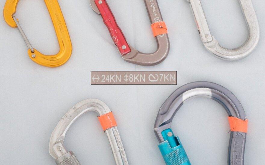 Carabiners. Photo wikimedia