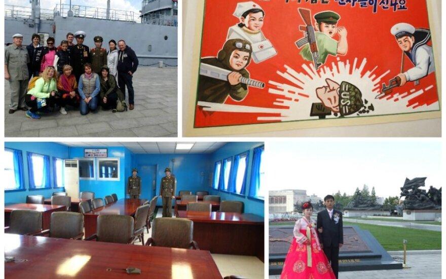 Lietuvės įspūdžiai iš Šiaurės Korėjos: fotografuokite tik tai, kas gražu