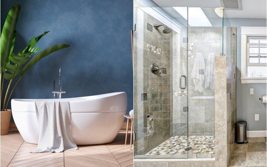 Vonia, dušas