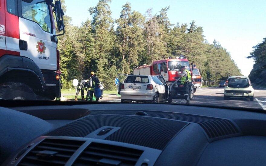 Baisi avarija Palangoje: į ligoninę išvežti 7 žmonės
