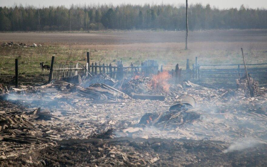 Lietuvių jau negąsdina net baudos: tragiškų gaisrų kaltininkais dažnai tampa jie patys