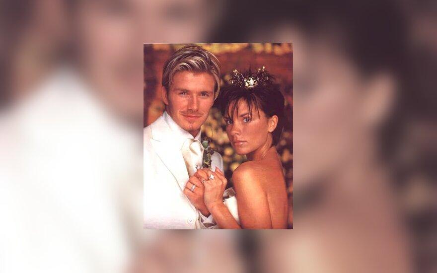 Posh Spice ir David Beckham