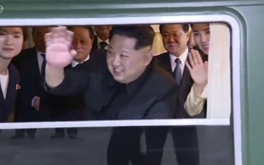 Kim Jong Uno vizitas Kinijoje