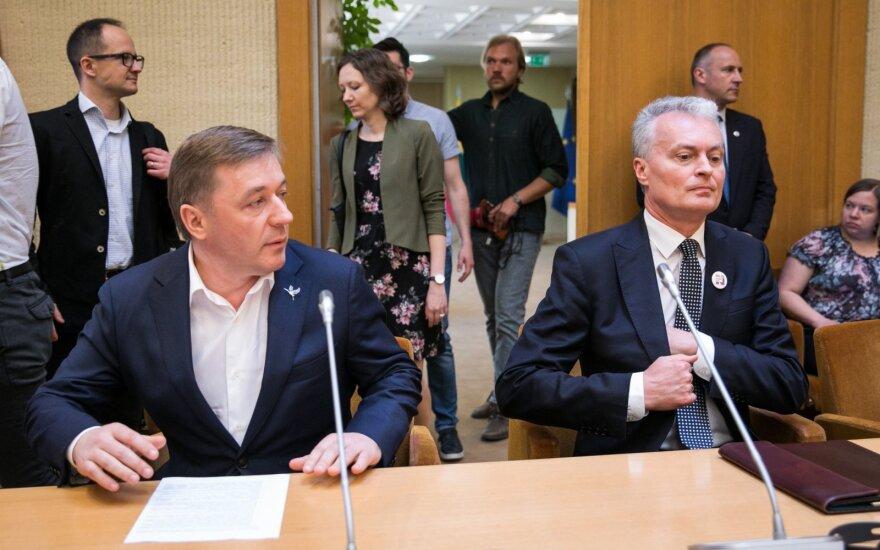 Ramūnas Karbauskis, Gitanas Nausėda