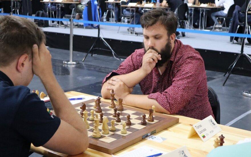 Tomas Laurušas (Lietuvos šachmatų federacijos nuotr.)