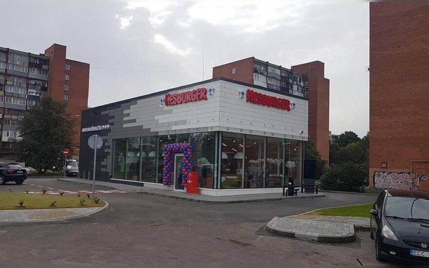 "Vilniuje – naujas ""Hesburger"" restoranas"