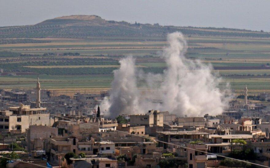 JAV įtaria, kad Sirijoje buvo įvykdyta nauja cheminė ataka