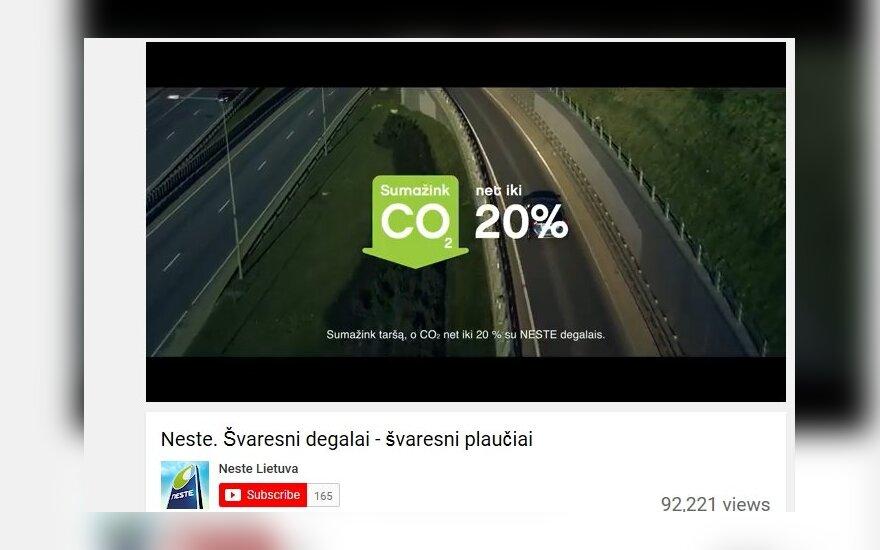 """Neste Lietuva"" fined for misleading advertisement"